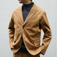 WORKERS【MoonglowJacket】BrushedSoftChino Size.36