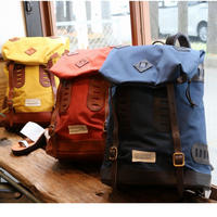 VASCO  VSE-203 【 NYLONCROSS×LEATHEROLDBACKPACK 】 Navy