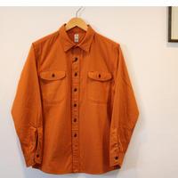 KATO'【2重織り3本針ワークシャツ】