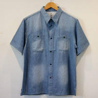 KATO' 【山型ポケットワークシャツ】