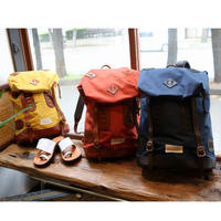 VASCO 「Vasco Equipment」 NYLONCROSS×LEATHER OLD BACKPACK