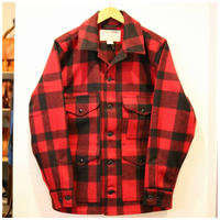 FILSON【 SINGLE MACKNAW CRUISERJACKET 】Red