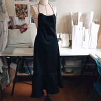 """OPEN BACK DRESS"" /black"