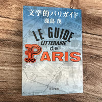 【鹿島茂講演会チケット付き】鹿島茂『文学的パリガイド』