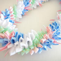 Cotton Candy Lei