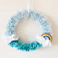 Rainbow Mini Wreath