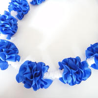 Blue Hawaii Lei