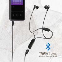 Bluetoothネックレス型 2WAY ワイヤレスイヤホン BTN-Y3500