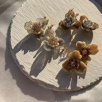 【Hand-made】 The poppy pierces / earrings #12