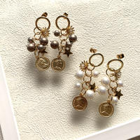 【Hand-made】Charm pierces/earrings #22