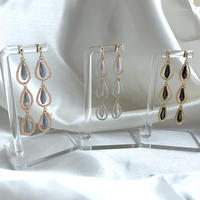 【Hand-made】 The dew pierces / earrings #363 #364 #365