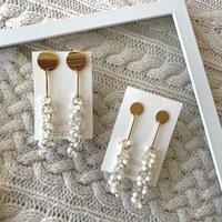 【Hand-made】 The gloss pierces / earrings #4