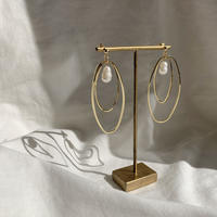【Hand-made】 Saturn pierces/earrings #14