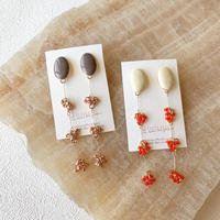 【Hand-made】The berry pierces/earrings #24