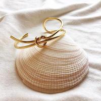Loop and knot motif bangle #260 / #307