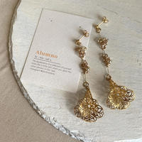 【Hand-made】Datura pierces/earrings #13