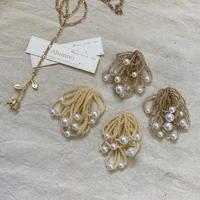 【Hand-made】The shower  pierces / earrings #338/#339