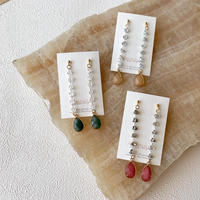 【Hand-made】 The dazzle pierces / earrings #25