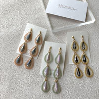 【Hand-made】 The dew pierces / earrings #11