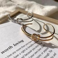 Loop and knot bangle #301