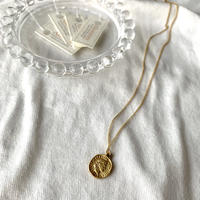 【Hand-made】Mini coin long necklace #334