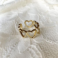 Lots of heart ring #340