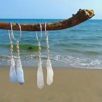 【SV925】ice drop earrings