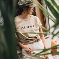 Sandy Aloha Tee