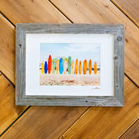 The Beach Craft Co. Barn Wood Frame A3 Single
