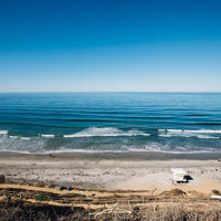 Beacons Beach Mat Print A3