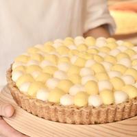 マンゴープリンとマスカルポーネクリームのタルト 25cm(ホールケーキ)