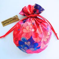 リバティキャンディ巾着・エメラルドベイ・ピンク