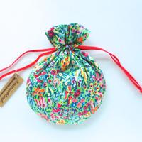 リバティキャンディ巾着・バージニアメドウ・カラフル