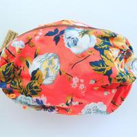 リバティバルーンポーチ(大)マジカルブーケ・オレンジ 1