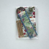 リバティ キーホルダー・大柄の花