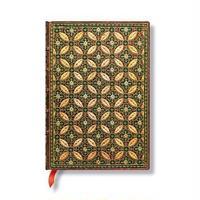 Paperblanks ノートBook 《Parisian Mosaic Safranミディ》