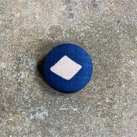 藍ブローチ #011