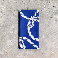 """Tie the knot"" Tenugui (hand towel) -Light Blue"