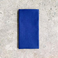 Plain Tenugui (hand towel) -Mid Blue