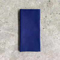 Plain Tenugui (hand towel) -Dark Blue