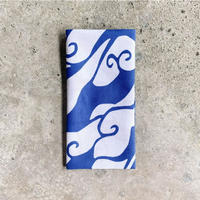 Yakumo (Cloudy Skies) Tenugui (hand towel) -Light Blue