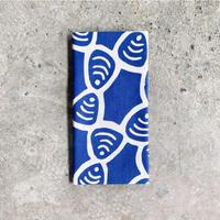 Shijimi (Basket Clams) Tenugui (hand towel) -Light Blue