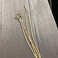 ジェムパレス  チェーン 20k ネックレス