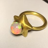 スターオパールリング ジェムパレス 22k star opal ring