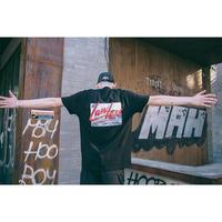 【SALE】LEWデザインブラックTシャツ