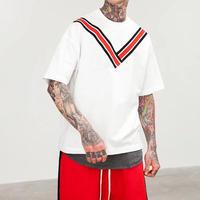 [HOT]VデザインビックサイズTシャツ 3カラー