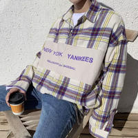 NewYorkオーバーサイズシャツ【S00113】