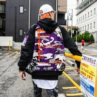 【売れ筋】カラフル迷彩デザインMA-1 2カラー