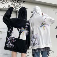刺繍デザインボックスフーディー【LA00480】