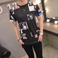 [TREND]アートデザインTシャツ 2カラー